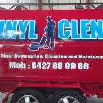 custom signwriting trailer