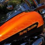 custom paint harley davidson