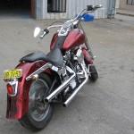 custom paintwork motorbike