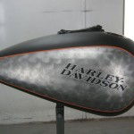 custom finish harley davidson