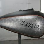 custom finish harley davidson