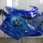 airbrush helmet
