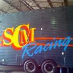 large scale vehicle signage