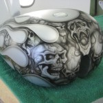 custom airbrush fuel tank