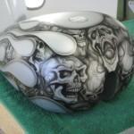 custom airbrush fuel tank