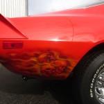 custom airbrush flames and skulls